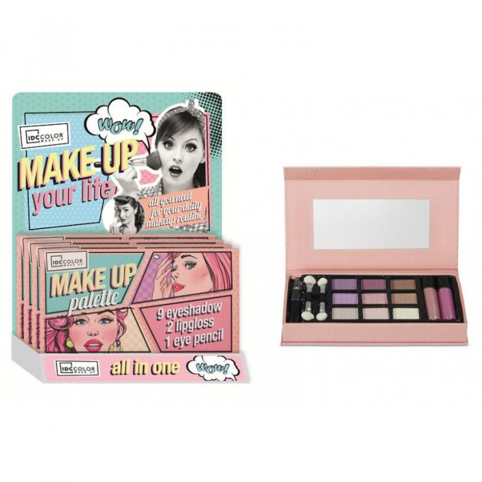 IDC COLOR PIN UP COLLECTION MAKE UP PALETTE