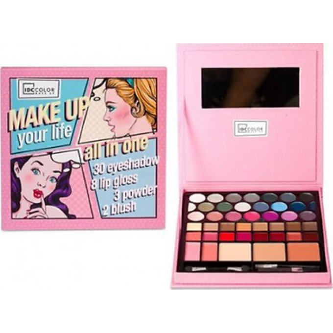 IDC COLOR PIN UP COLLECTION DAILY MAKEUP BOX