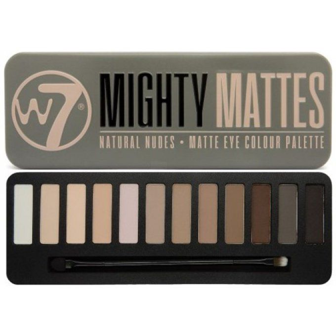 Mighty Mattes Palette - W7