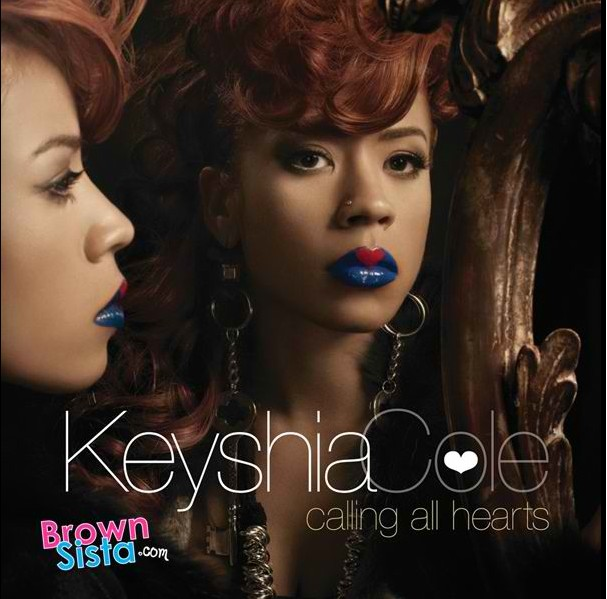 Keyshia Cole en Lip Tattoo