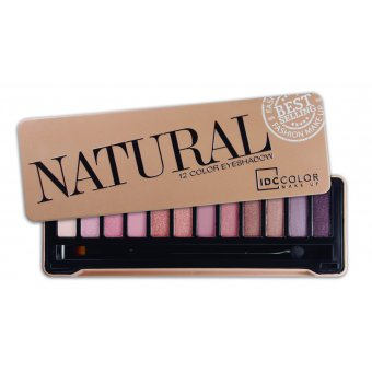 Natural eyeshadow by IDC Colors