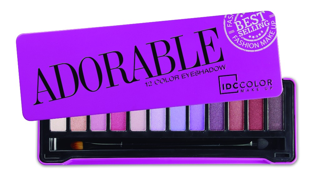 Palette de maquillage Adorable by IDC COLOR