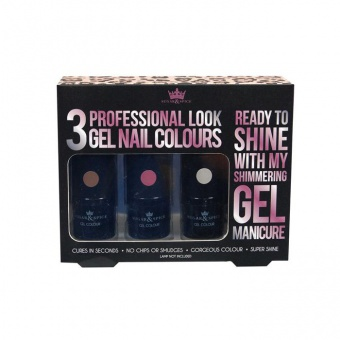 Set 3 gels semi-permanent Shimmer