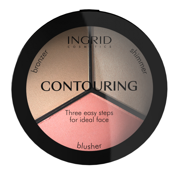 5902026632614 Ingrid Facial Contouring palette Ideal Face Contouring 2019