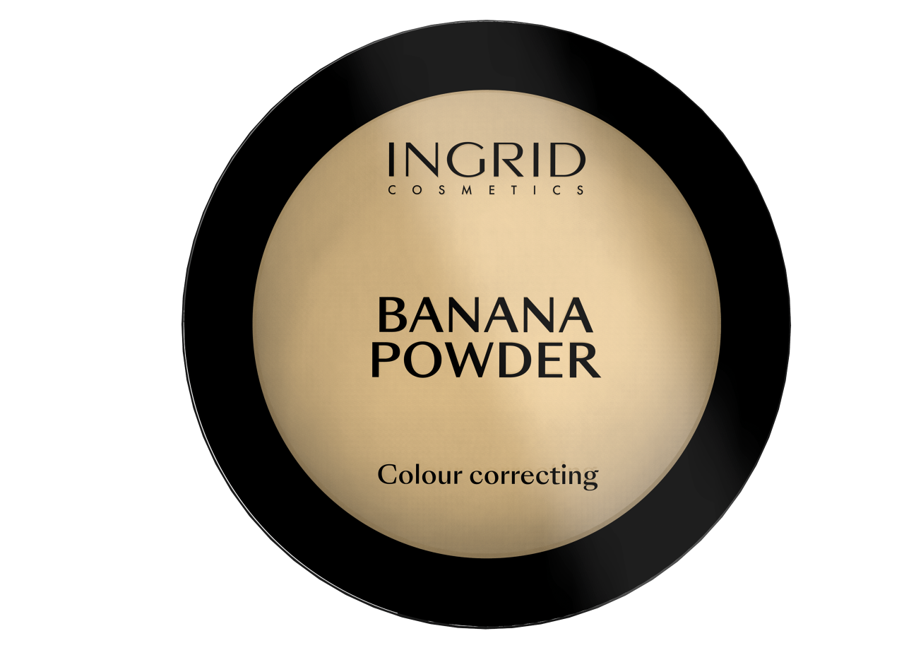 Poudre Compacte Banana Powder - 10g - Ingrid Cosmetics