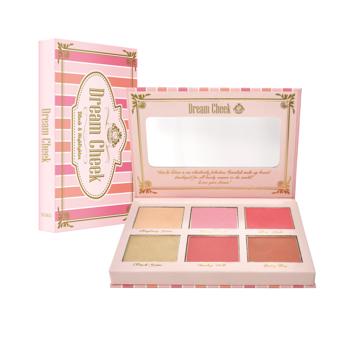 Dream cheek blush kit VIVA LA DIVA