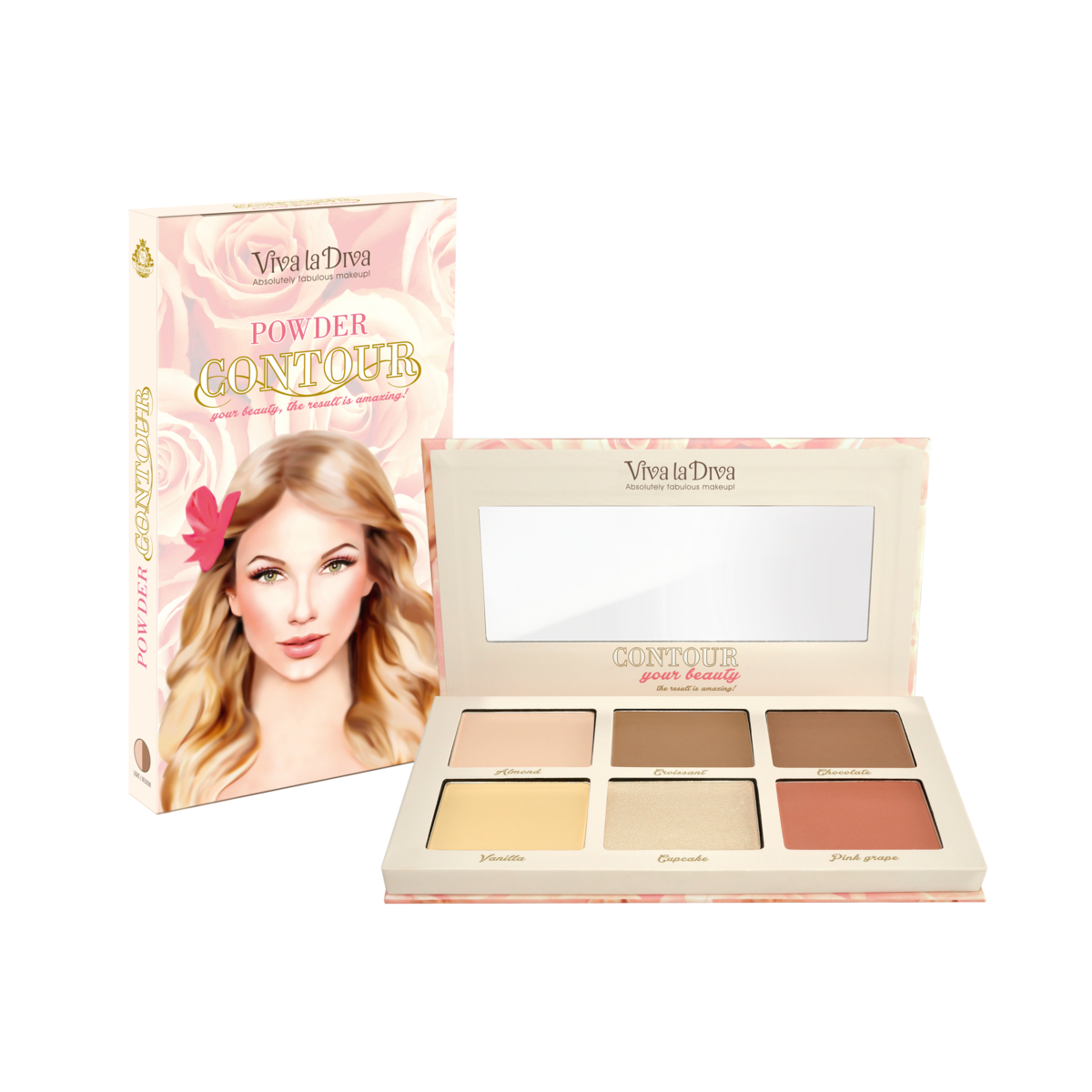 Contouring kit VIVA LA DIVA Light / Medium