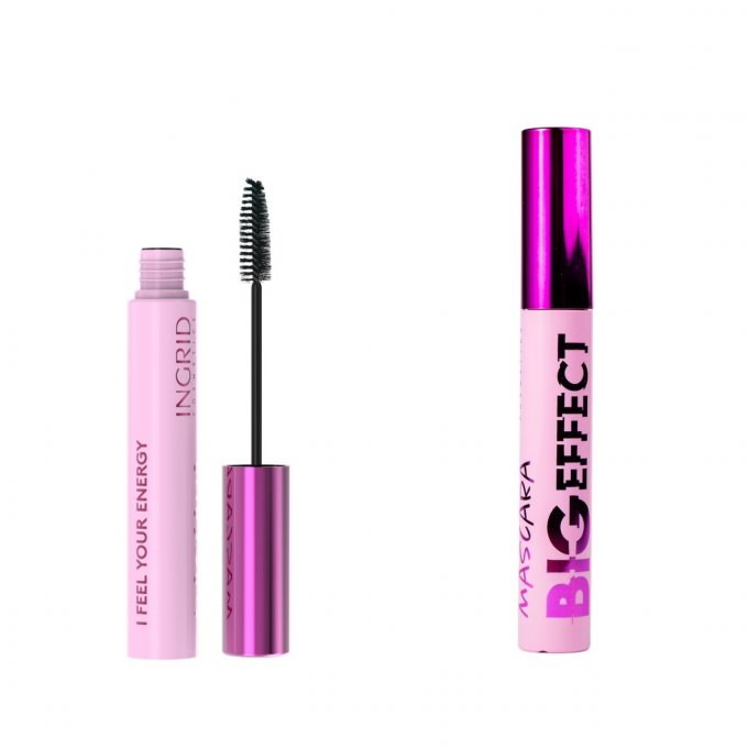 Mascara BIG EFFECT - 12 ml - Ingrid Cosmetics