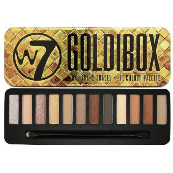 Goldibox - Eyeshadow Tin - GOLDIBOX - 5060294390381
