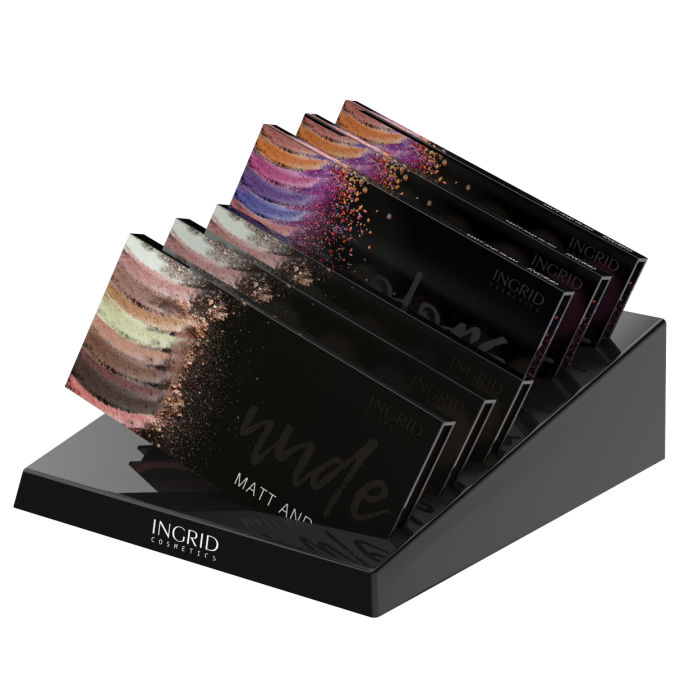 I EYESHADOW PALETTE MIX A8 + 2 ТЕTERS + DISPLAY-5902026607834 Carré