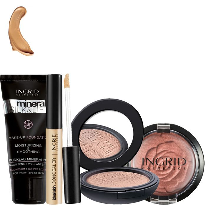 Kit teint Ingrid Cosmetics - Clair