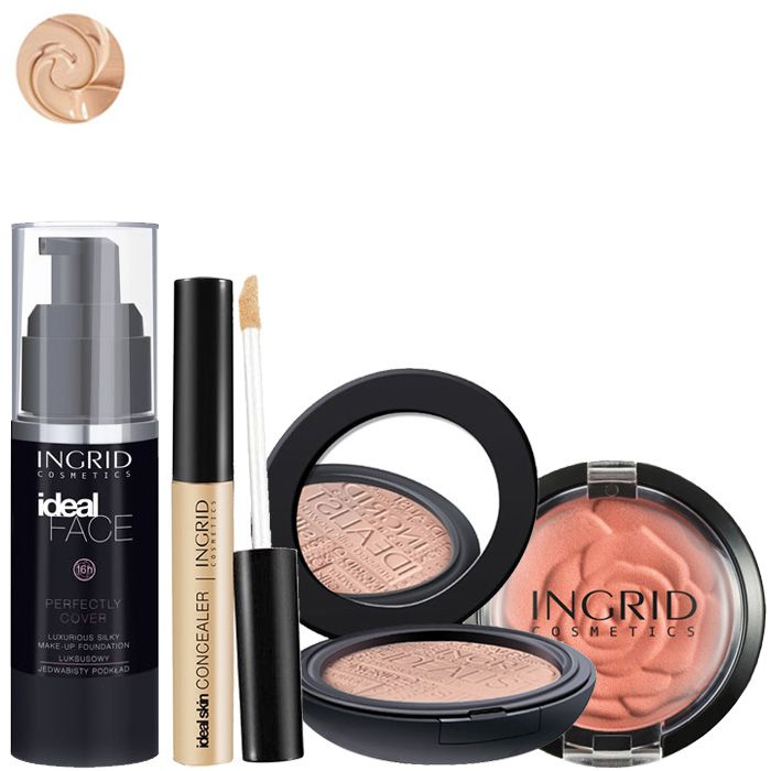 Kit teint Parfait Ingrid Cosmetics - Medium