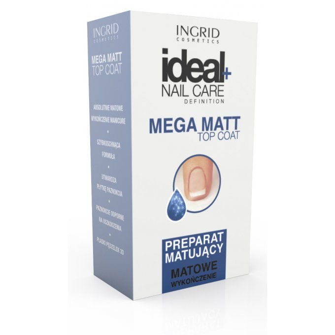 Mega Matt Top Coat Ingrid Cosmetics