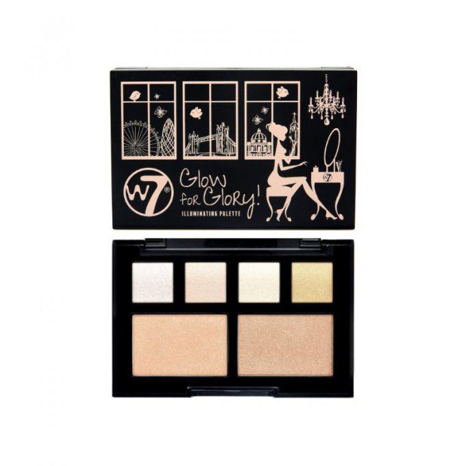 Palette illuminatrice - Glow For Glory W7