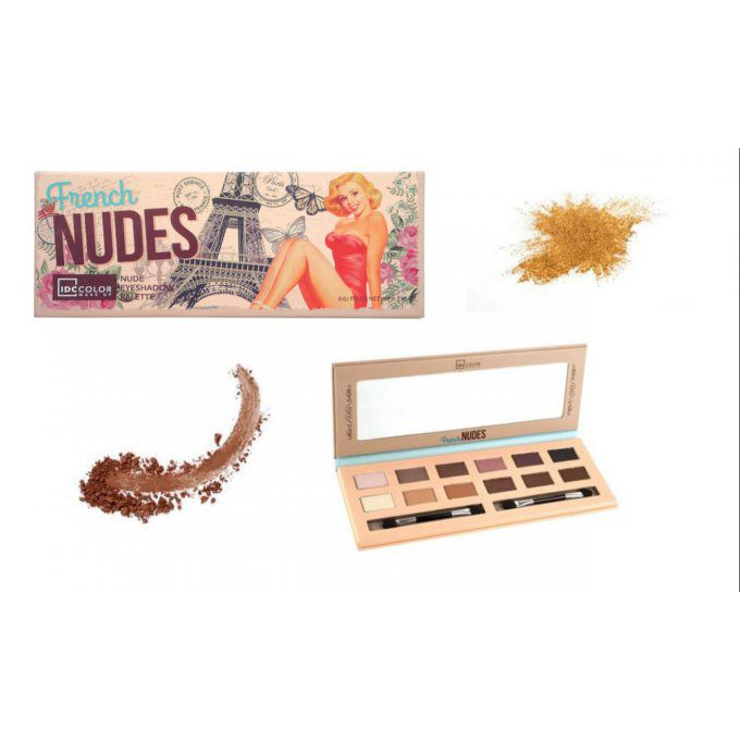 Palette French Nudes IDC COLOR