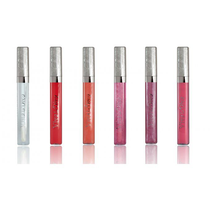 Lot de 6 Lipgloss Superlicious VIVA LA DIVA