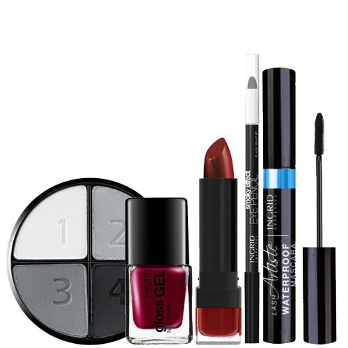Total Look Glamour Ingrid Cosmetics