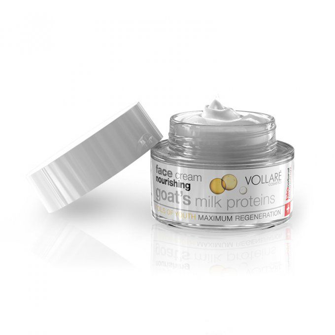 V NOURISHING FACE CREAM WITH GOAT MILK AND 7 OILS-Jar